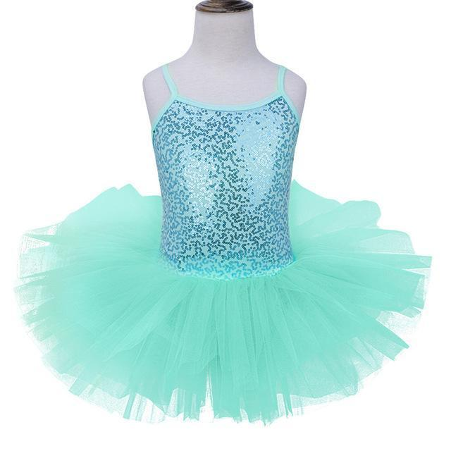 556ac0fd9 Girls Ballet Dress For Children Dance Costume Kids Girls Ballet Tutu Dresses  Gymnastics Leotard-Stage