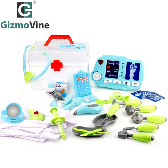 Gizmovine 31Pcs Doctor Play Toys Set Doctora Juguetes For Child ...