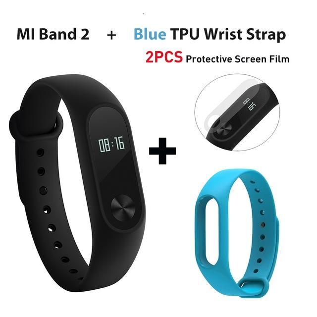 Global Version Xiaomi Mi Band 2 Miband 2 Smartband Oled Display Touchpad  Heart Rate Monitor