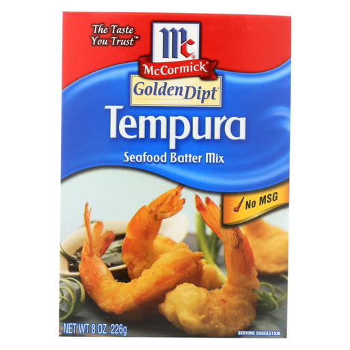 Golden Dipt - Breading - Tempura Mix - Case Of 8 - 8 Oz.-Eco-Friendly Home & Grocery-Golden Dipt-EpicWorldStore.com