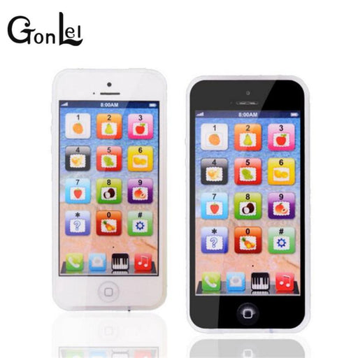 Gonlei Baby Yphone Mobile Phone Educational Toy For Children Playmobil Gift White-Electronic Toys-One Toy, One Dream-White-EpicWorldStore.com