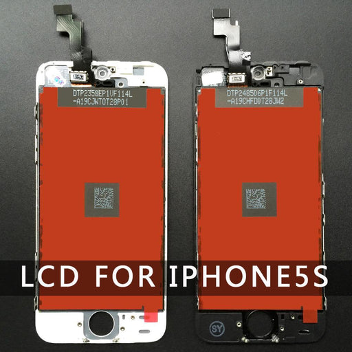 Good Quality Replacement For Iphone 5 Iphone 5C Iphone 5S Lcd Display Touch Screen Digitizer-Mobile Phone Parts-ICreate LCD Centre-For iphone 5 black-EpicWorldStore.com