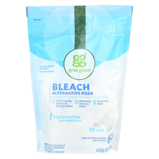 Grab Green Bleach Alternative - Fragrance Free - Case Of 6 - 24 Count-Eco-Friendly Home & Grocery-Grab Green-EpicWorldStore.com