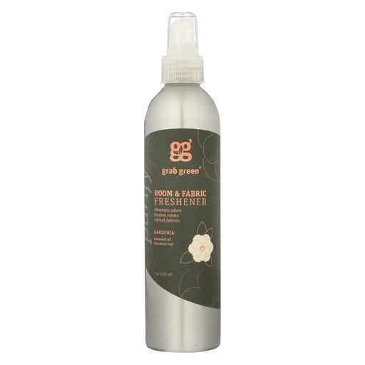 Grab Green Room And Fabric Freshener - Gardenia - Case Of 6 - 7 Fl Oz.-Eco-Friendly Home & Grocery-Grab Green-EpicWorldStore.com