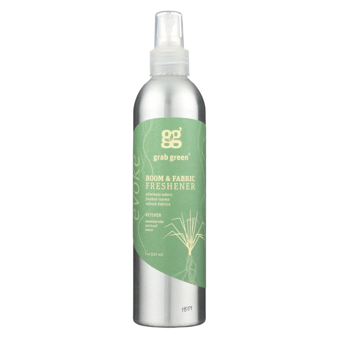 Grab Green Room And Fabric Freshener - Vetiver - Case Of 6 - 7 Fl Oz.-Eco-Friendly Home & Grocery-Grab Green-EpicWorldStore.com