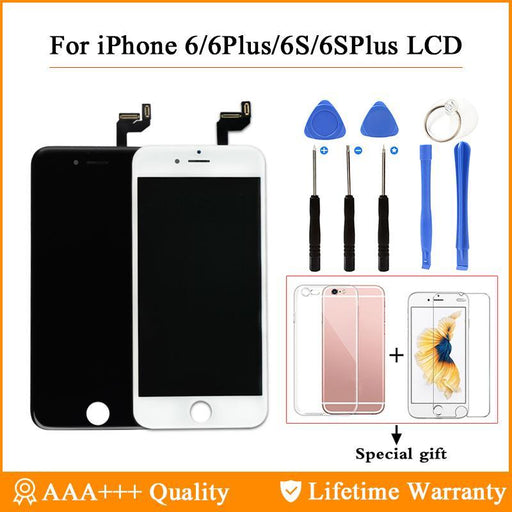 Grade Aaa+++ For Iphone 6 6S Plus Lcd With 3D Force Touch Screen Digitizer Assembly Display No-Mobile Phone Parts-Shenli Electronic Technology (HongKong) Co.,Ltd.-For iPhone 6 Black-EpicWorldStore.com