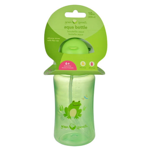 Green Sprouts Aqua Bottle - Green - 1 Ct-Eco-Friendly Home & Grocery-Green Sprouts-EpicWorldStore.com