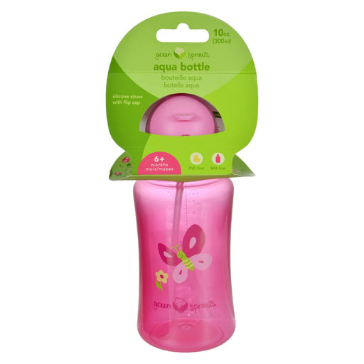 Green Sprouts Aqua Bottle - Pink - 1 Ct-Eco-Friendly Home & Grocery-Green Sprouts-EpicWorldStore.com
