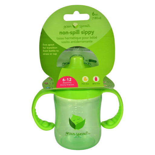 Green Sprouts Sippy Cup - Non Spill Green - 1 Ct-Eco-Friendly Home & Grocery-Green Sprouts-EpicWorldStore.com