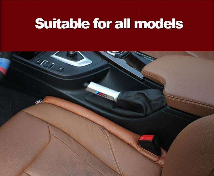 Grey Black Beige Brown Car Seat Cushion Crevice Gap Stopper Pu Leather Leakproof Protector