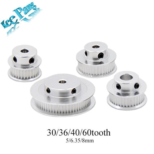 Gt2 Timing Pulleys 30 36 40 60 Tooth 2Gt Wheel Parts Bore 5Mm 8Mm Aluminium Gear Teeth Width 6Mm-Office Electronics-KINGROON Factory Store-30T W6 B5-EpicWorldStore.com