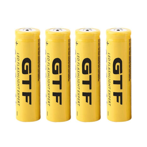 Gtf 18650 Battery Rechargeable Battery 3.7V 18650 9800Mah Capacity Li-Ion Rechargeable Battery For-Accessories & Parts-GTF Official Store-1pcs-EpicWorldStore.com
