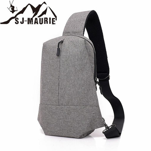 Gym Bags Women Backpack Bag Urban Leisure Sports Chest Pack Bags Men Women Small Size Shoulder-Gym Bags-Fit & Healthy Sportsmall Store-Light Grey-EpicWorldStore.com