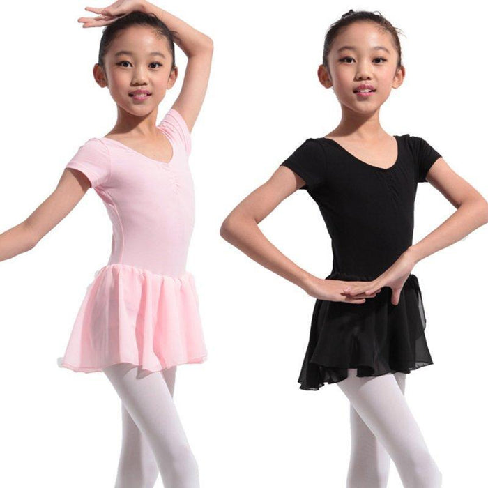 aff1f756f Gymnastics Leotard For Girls Ballet Dress Kids Leotard Tutu Dance ...