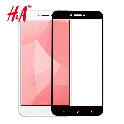 H&A 9H Protective Full Cover Tempered Glass For Xiaomi Redmi 4 4X 4A 16G 32G Screen Protector For-Mobile Phone Accessories-H&A Official Store-For Redmi 4A-white-EpicWorldStore.com