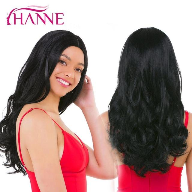 2ed8bbcb9 Hanne Long Ombre Brown Blonde High Density Heat Resistant Synthetic Wig For  Black/White Women
