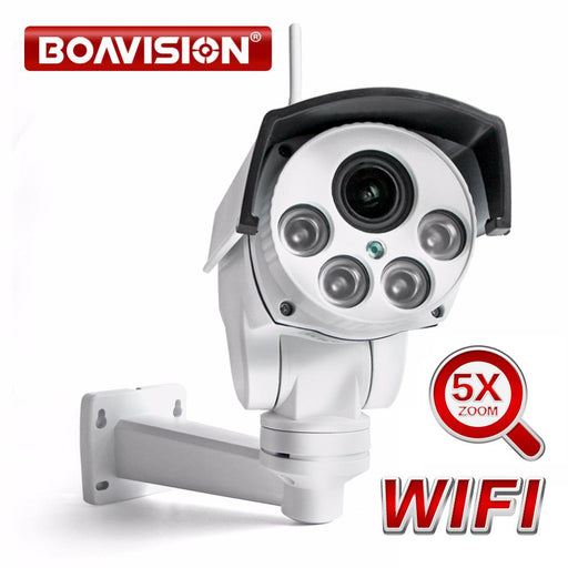 Hd 1080P 960P Wifi Ptz Ip Camera Wireless 5X Zoom Auto Focus Lens 2.7-13.5Mm 2Mp Security Bullet-BOAVISION Official Store-960P WIFI IP Camera-EpicWorldStore.com