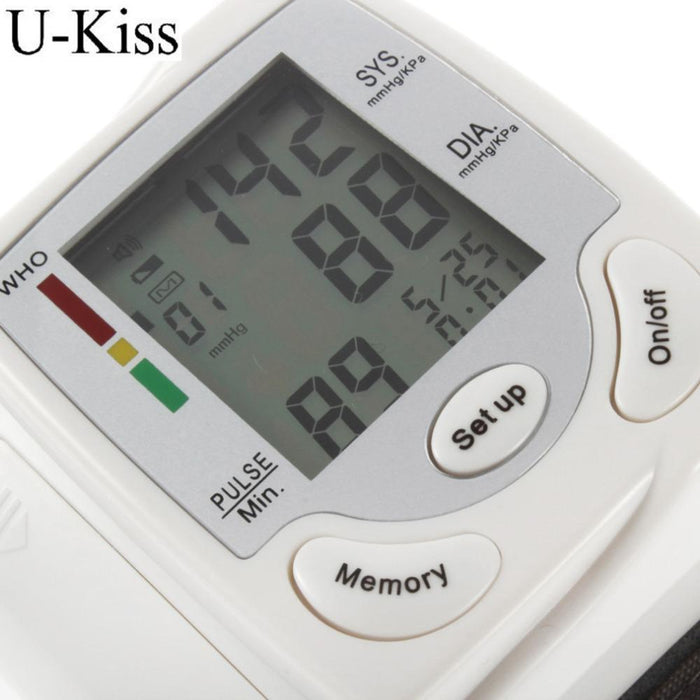 Health Care Portable Automatic Wrist Digital Blood Pressure Monitor Tonometer Meter For Measuring-Health Care-H&Q Healthy Life Dropshipping Store-EpicWorldStore.com