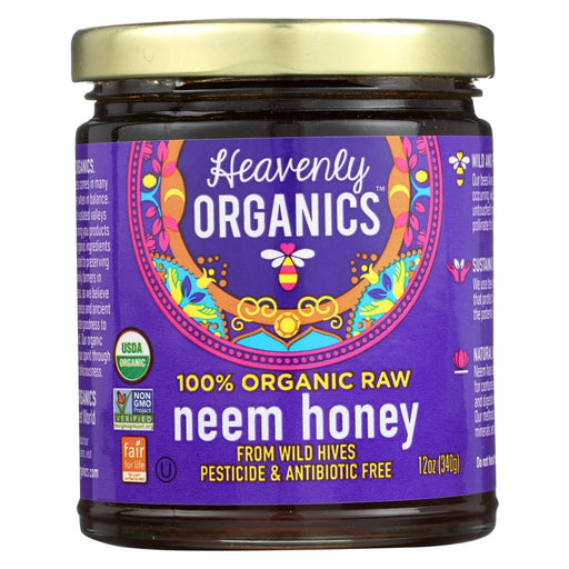 Heavenly Organics Organic Honey - Wild Forest - Case Of 6 - 12 Oz.-Eco-Friendly Home & Grocery-Heavenly Organics-EpicWorldStore.com