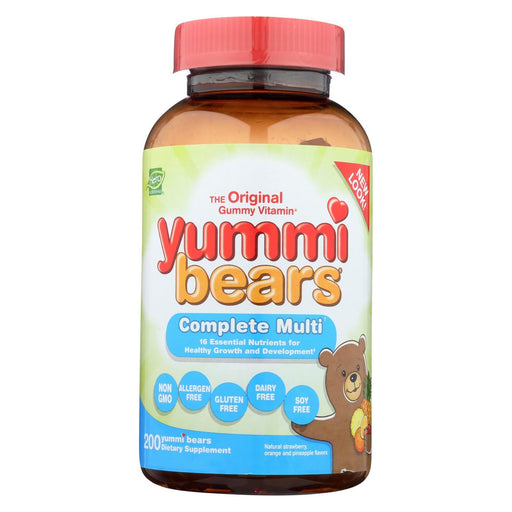 Hero Nutritionals Yummi Bears Gummy Vitamins For Children - 200 Gummies-Eco-Friendly Home & Grocery-Hero Nutritional Products-EpicWorldStore.com