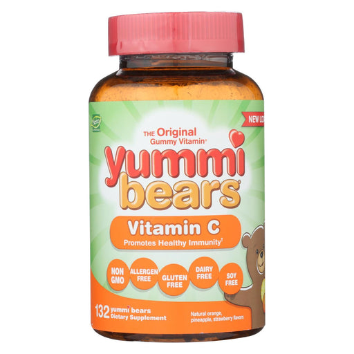 Hero Nutritionals Yummi Bears Vitamin C - 132 Gummy Bears-Eco-Friendly Home & Grocery-Hero Nutritional Products-EpicWorldStore.com