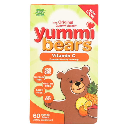 Hero Nutritionals Yummi Bears Vitamin C - 60 Chewables-Eco-Friendly Home & Grocery-Hero Nutritional Products-EpicWorldStore.com