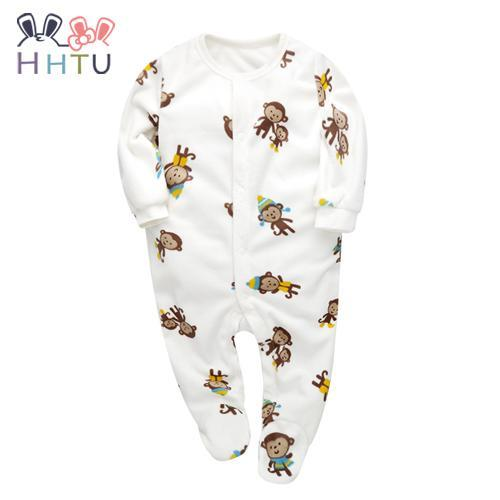 b5ad0c6a4 Hhtu Baby Rompers Clothes Long Sleeved Coveralls For Newborns Boy ...