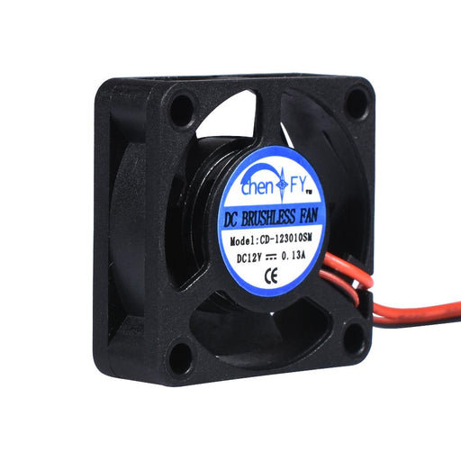High Quality 3010S 30Mm 30 X 30 X 10Mm 12V 2Pin Dc Cooler Small Cooling Fan For 3D Pinter Part-Office Electronics-BIG TREE TECH Store-EpicWorldStore.com