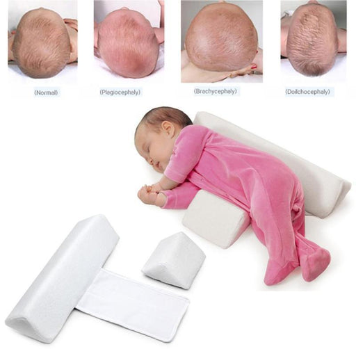 High Quality Pillow Newborn Baby Infant Sleep Positioner Prevent Flat Head Shape Anti Roll Pillow-Baby Bedding-FzcTech Store-EpicWorldStore.com