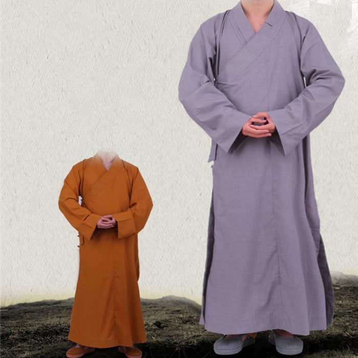 Top Quality Shaolin Monk Daily Kung fu Farming Suit Meditation Training Uniforms