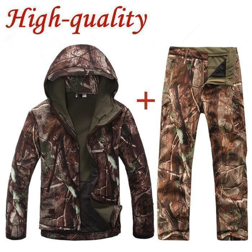 High Quality Tad V 4.0 Men Outdoor Hunting Camping Waterproof Windproof Polyester Coats Jacket-Jackets-Shop4229011 Store-Black-S-EpicWorldStore.com