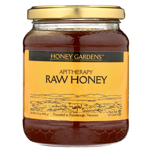 Honey Gardens Apiaries Apitherapy Honey - Raw - Case Of 4 - 1 Lb.-Eco-Friendly Home & Grocery-Honey Gardens Apiaries-EpicWorldStore.com