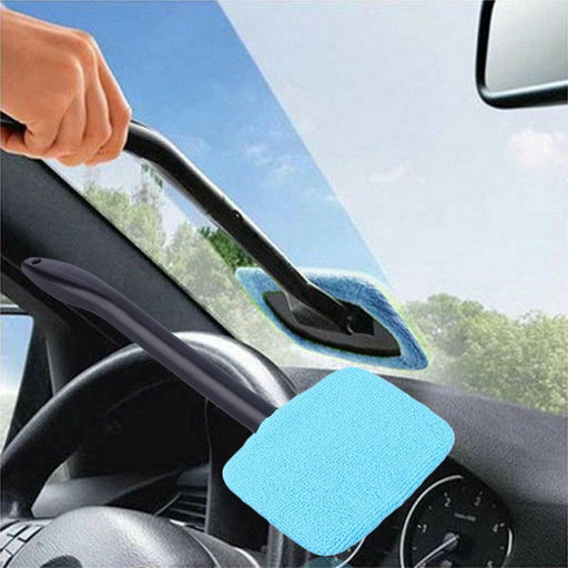 Hot Car Washer Brush Microfiber Window Cleaner Long Handle Dust Car Care Windshield Shine Towel-Car Wash & Maintenance-Professional Automobiles & Motorcycles Accessories Store-EpicWorldStore.com