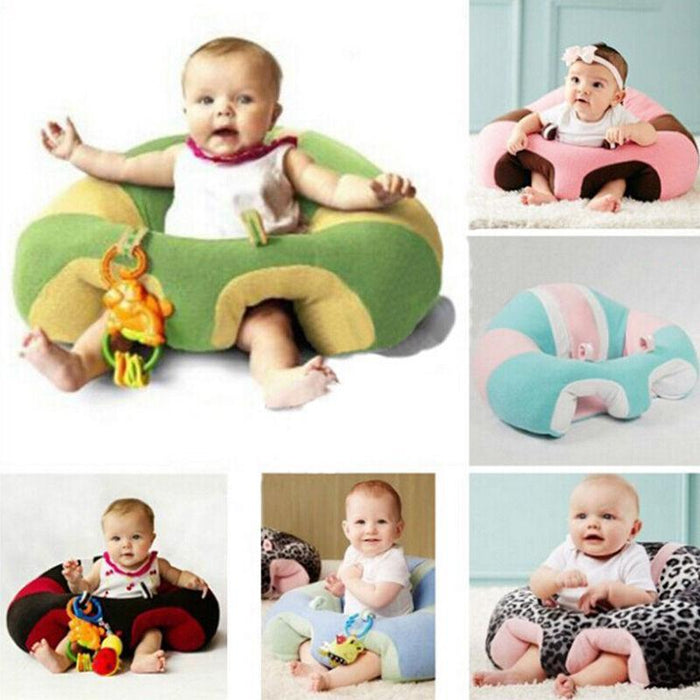 Hot Colorful Classic Infant Baby Support Seat Soft Cotton Travel Car Pillow Cushion Toys