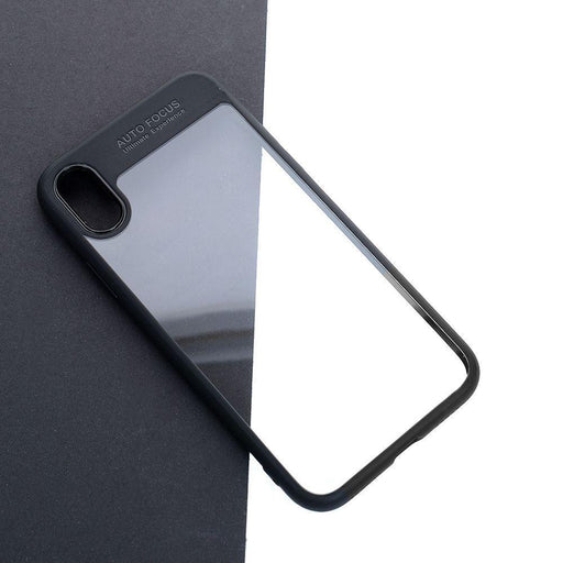Hot Full Protective Tpu Transparent Phone Back Cover Case For Apple Iphone X Black-Computer Cleaners-Funnysports Store-EpicWorldStore.com