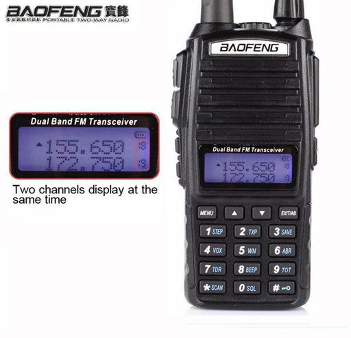 Hot Portable Two-Way Transceiver Radio Walkie Talkie 10 Km Cb Ham Radio Amateur For Vhf Uhf Dual-Communication Equipments-Walkie Talkie Online Store-Camo-EpicWorldStore.com
