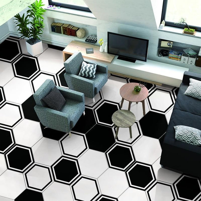 Hot Sale 10Pcs/1Set Pvc Waterproof Stickers Self Adhesive Tile Art Floor Wall Decal Sticker Diy-Wallpapers-Eshoo Lighting World Store Store-A-EpicWorldStore.com