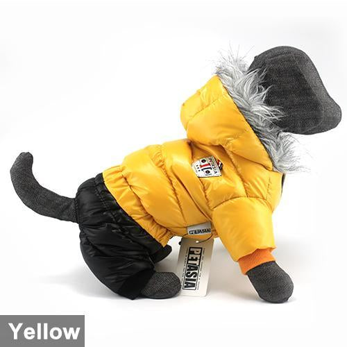 Hot Sale Winter Pet Dog Clothes Super Warm Down Jacket For Small