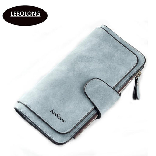 Hot Sales Brand Wallet Women Scrub Leather Lady Purses High Quality Ladies Clutch Wallet Long Female-Wallets-2898 Store-1-EpicWorldStore.com