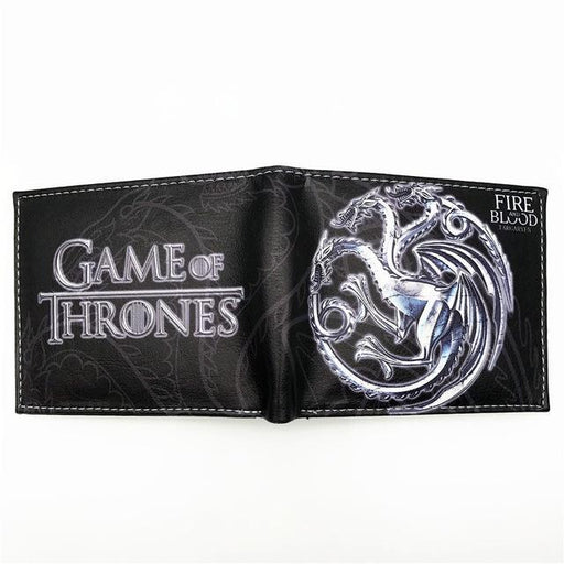 Hot Sell Leather Wallet Game Of Thrones Stark Winter Is Coming Short Wallets With Card Holder-FVIP Store-GT 001-EpicWorldStore.com