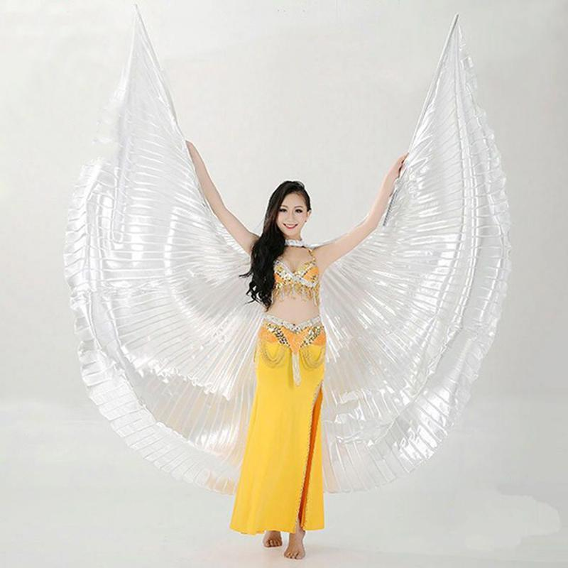 b1e2f77b0 Hot Selling Shining Egyptian Belly Dancing Isis Wings 11 Colors ...