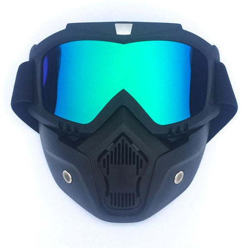 Hot Winter Sports Snow Ski Mask Mountain Skiing Snowboarding Glasses Motor Cycling Cool Masks Men-Cycling Face Mask-Shop5077008 Store-gray lens-as picture-EpicWorldStore.com