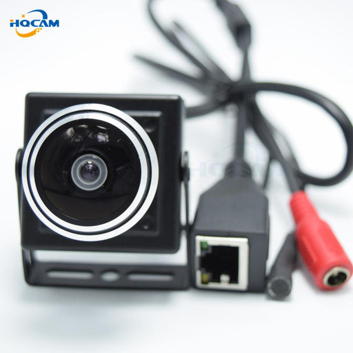 Hqcam 1080P Audio Video Camera Mini Ip Camera H.264 Microphone Camera P2P Network 1.78Mm Fisheye-HQCAM Official Store-EU Plug-EpicWorldStore.com
