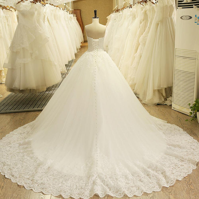 3c1bc7f05d5 Hw091 Charming Sweetheart Applique Lace Vintage Bridal Wedding Dress  Princess Wedding Dresses Turkey-Wedding Dresses