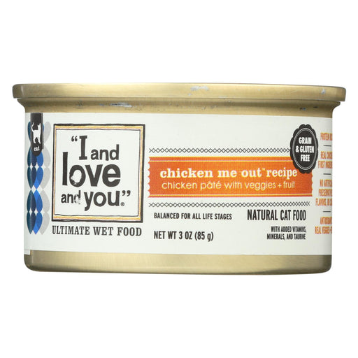 I And Love And You Chicken Me Out - Wet Food - Case Of 24 - 3 Oz.-Eco-Friendly Home & Grocery-I And Love And You-EpicWorldStore.com