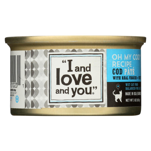 I And Love And You Oh My Cod - Recipe - Case Of 24 - 3 Oz.-Eco-Friendly Home & Grocery-I And Love And You-EpicWorldStore.com