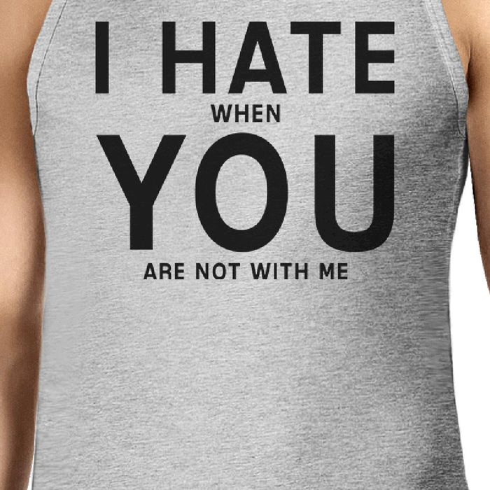 d20d2081547197 I Hate You Mens Cotton Tank Top Funny Graphic Tanks Cute Typography-Apparel    Accessories