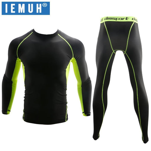 Iemuh New Winter Thermal Underwear Sets Men Quick Dry Anti-Microbial Stretch Mens Thermo-Underwear-IEMUH Official Store-Style 1-S-EpicWorldStore.com