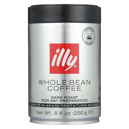 Illy Caffe Coffee Coffee - Whole Bean - Dark Roast - 8.8 Oz - Case Of 6-Eco-Friendly Home & Grocery-Illy Caffe Coffee-EpicWorldStore.com