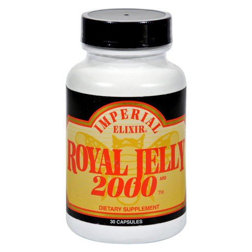 Imperial Elixir Royal Jelly 2000 - 2000 Mg - 30 Capsules-Eco-Friendly Home & Grocery-Imperial Elixir-EpicWorldStore.com